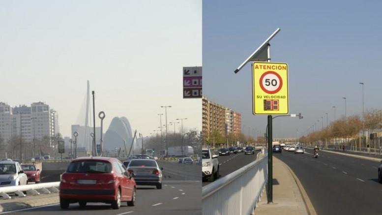 Zona multas exceso velocidad Valencia