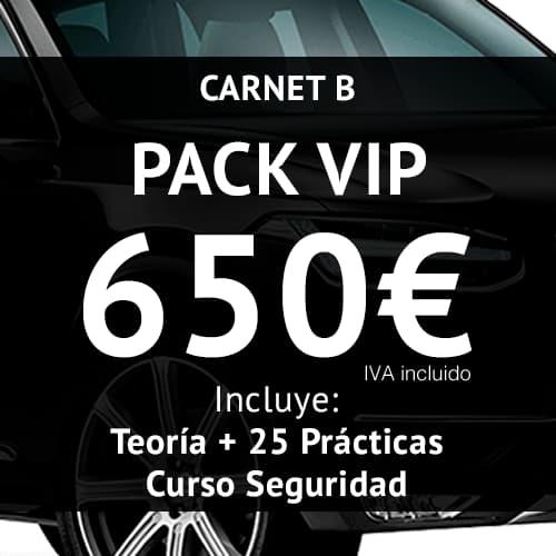 Pack VIP Autoescuela 25 Prácticas
