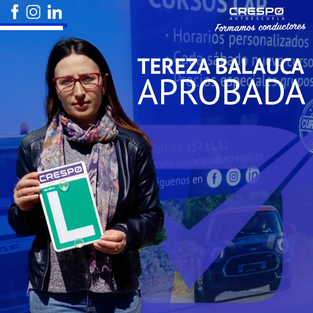 Tereza Balauca Aprobada
