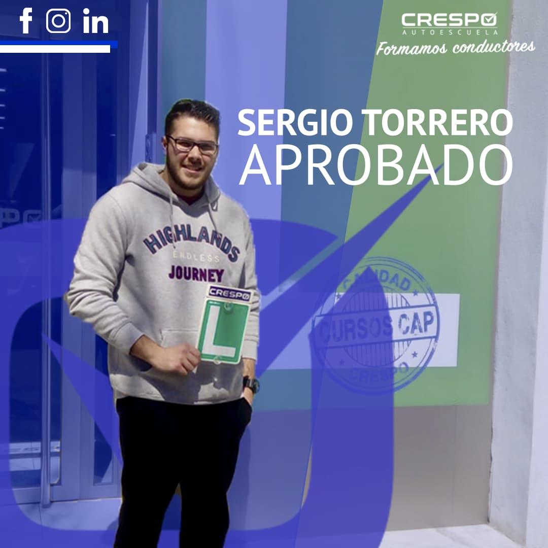 Sergio Torrero Aprobado