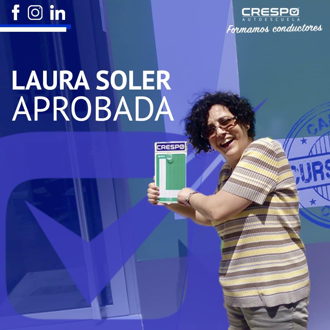 Laura Soler aprobada