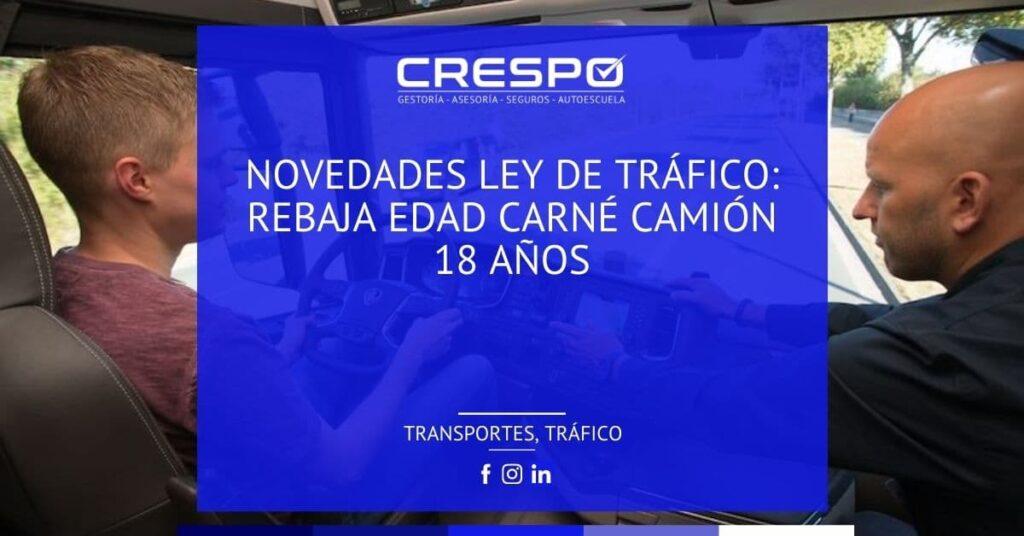 Novedades en la Ley de Tráfico